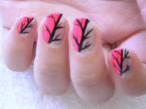 Easy hot pink nail polish designs facebook art pictures