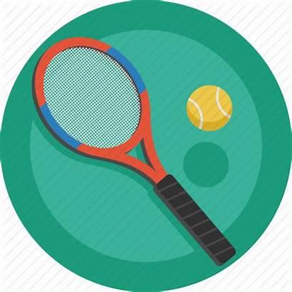 Tennis Icon Ball Racket Sport Championship District