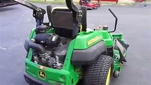 60 U0026quot  John Deere Z830a Zero Turn Lawn Mower With 27 Hp Kawasaki Engine