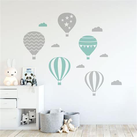kids air balloons wall decal vinyldesign
