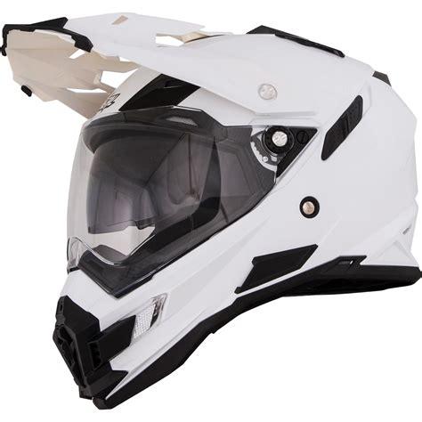 oneal motocross helmets oneal sierra adventure white dual sport helmet motorcycle