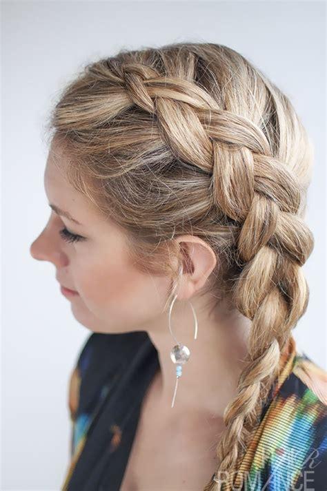 cute braided hairstyles  long hair