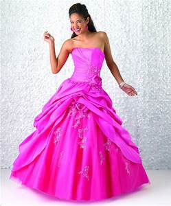 Select pink wedding dresses to make your wedding special for Hot pink dress for wedding
