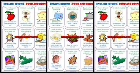 idioms esl printable worksheets  exercises