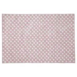 Teppich 120 X 200 : teppich dolly gepunktet 120 x 180 cm rosa maisons du monde ~ Bigdaddyawards.com Haus und Dekorationen