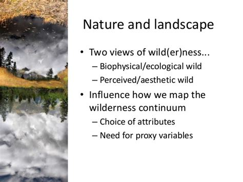 wilderness mapping register focus europe special practical implications continuum its