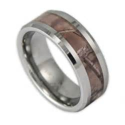mens tungsten wedding rings 8mm wide 39 s tree camo tungsten ring camouflage wedding band by ring