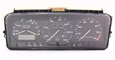 speedometer gauge cluster  vw passat
