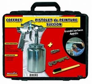 Pistolet Peinture Electrique : mallette pistolet peinture a succion 1 litre 1 kit d ~ Premium-room.com Idées de Décoration