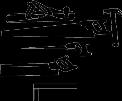 carpentry tools dwg block  autocad designs cad