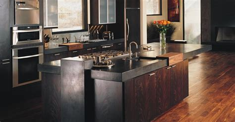 Ideas For Kitchen Countertops And Backsplashes - kitchen concrete countertops the concrete network