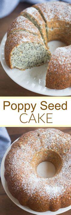 poppy seed cake  quick  easy cake recipe