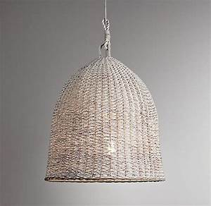 Design sleuth summery natural fiber pendant lights