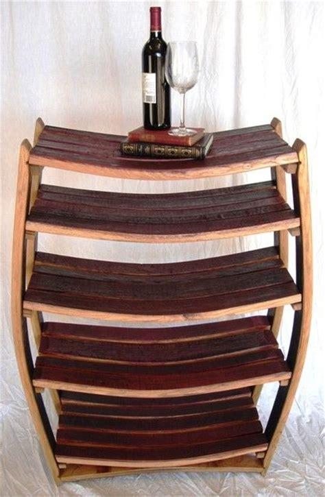 wine barrel shelf 1000 images about wine barrel ideas on