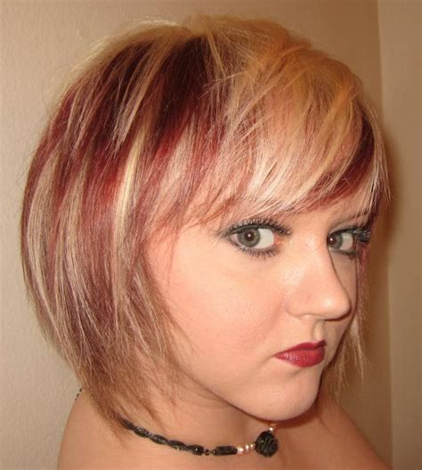 sexy red hair  blonde highlights slodive