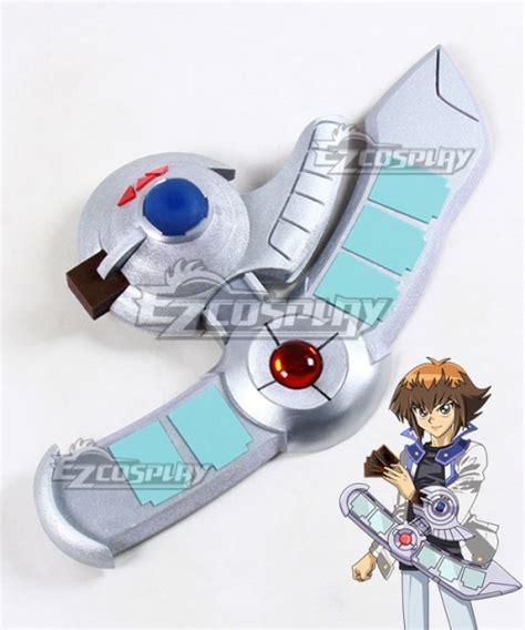 duel disk yugioh gx yu gi oh jaden yuki weapon cosplay prop anime gemerkt shareasale von