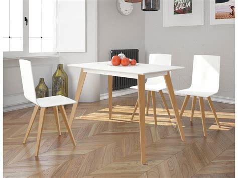 mesa  sillas de cocina  patas de madera