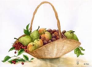 Panier A Fruit : panier de fruits photo de commandes illustrations plg artiste ~ Teatrodelosmanantiales.com Idées de Décoration