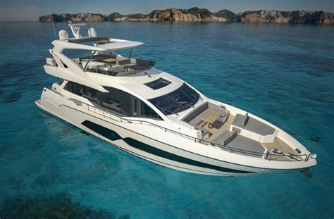 Yacht And Boat Show by Sunseeker 76 Yacht To Make Anticipated Debut At