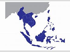 Southeast Asia Map Free Vector Art 7664 Free Downloads