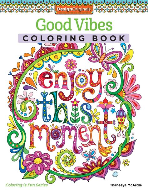 hot price on good vibes adult coloring book