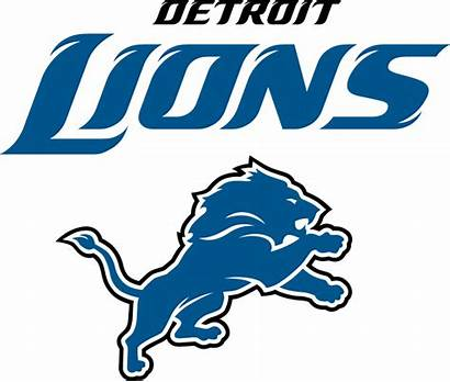 Lions Detroit Nfl Football Logos Clipart Team