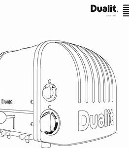 Dualit Toaster 20293 User Guide