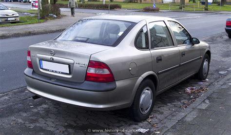 opel vectra 1995 opel 1995 vectra b 4door sedan the history of cars
