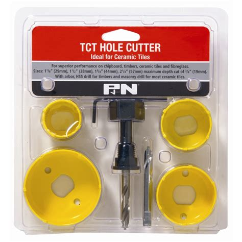 p n 6 piece ceramic tile holesaw set bunnings warehouse