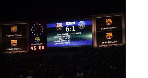 Barça - PSG (6-1) : les notes, fiasco sur toute la ligne