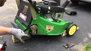 John Deere Jx75 Lawn Mower Transmission Removal