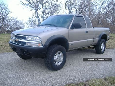 2000 Chevy S10 by 2000 Ext Cab Chevy S10 Zr2 Tires