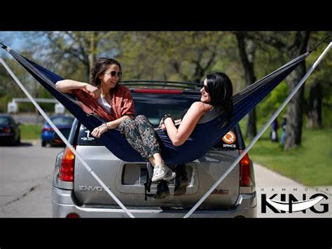 Tow Hitch Hammock by Hammock King The Collapsible Trailer Hitch Hammock Stand