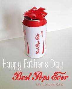 Happy Fathers Day 'Best Pops Ever' DIY