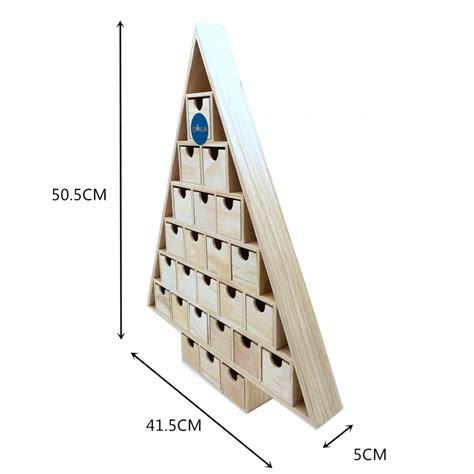 calendrier de l avent triangulaire 51 cm loisirs
