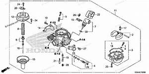 Honda Scooter 2016 Oem Parts Diagram For Carburetor