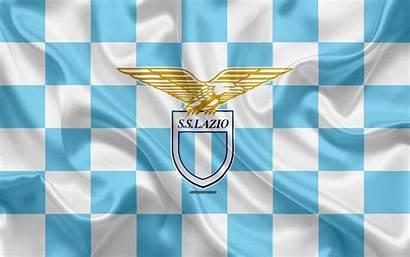 Lazio Ss Flag Checkered Creative Football Fc