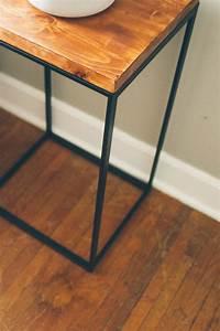 Ikea Table Appoint : ikea hack attack making a side table ~ Teatrodelosmanantiales.com Idées de Décoration