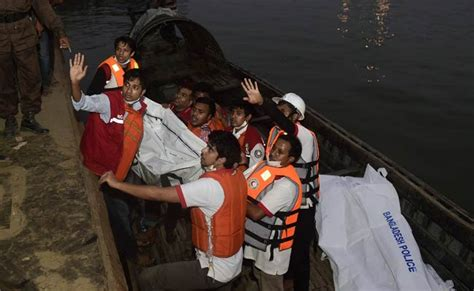 bangladesh ferry sinking death toll rises to 65 police