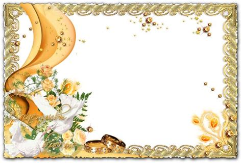 Photoshop Clipart Wedding Photo Frame