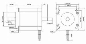 3 Axis Cnc Kit 439 Oz In Nema 24 Stepper Motor  U0026 M542t