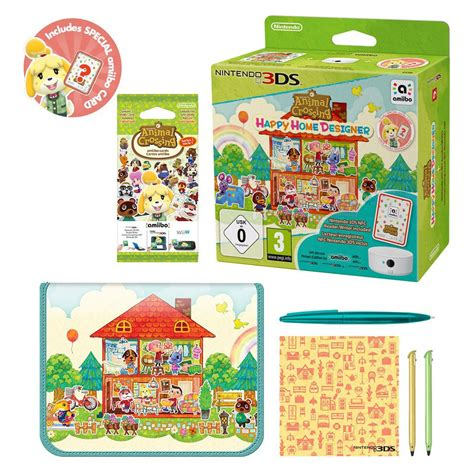 Animal Crossing Happy Home Designer + Nfc Readerwriter