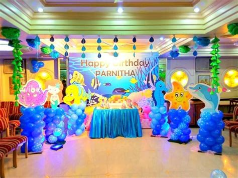 underwater theme decor birthday high  theme