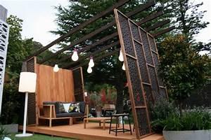 Gartengestaltung Mit Holz : 30 gartengestaltung ideen der traumgarten zu hause ~ One.caynefoto.club Haus und Dekorationen
