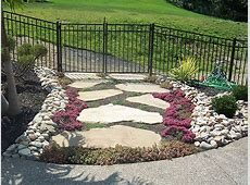 Luxurious Easy Landscaping Ideas Using Rocks And Stones
