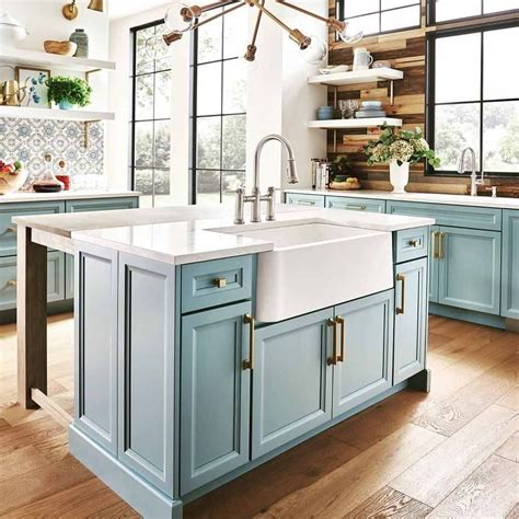Learn how to build and make a double sided kitchen island using standard 30 inch wall cabinets. Kitchen Island: Basic And Practical Ways To Introduce It ...