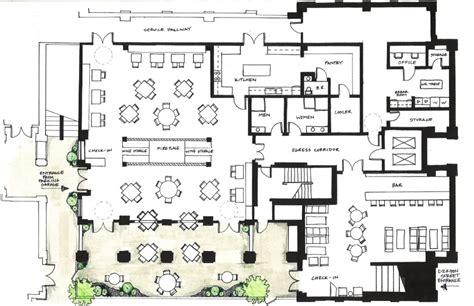 plan cuisine restaurant charming designing a restaurant kitchen layout and