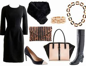 Funeral Outfits What to Wear at a Funeral. A simple modern black dress with black boots and ...