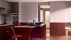 quatre facons de rehausser votre cuisine avec la couleur With couleur peinture mur exterieur 3 peinture dulux valentine brun cachemire couleur de l