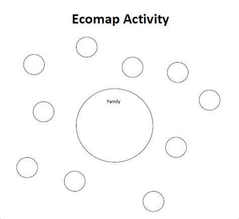 blank ecomap template social work  genogram